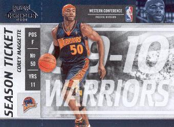 2009-10 Playoff Contenders #72 Corey Maggette