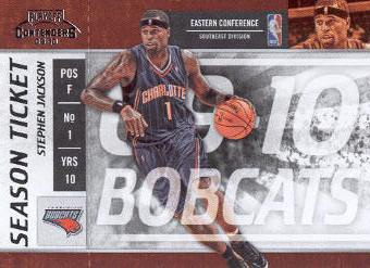 2009-10 Playoff Contenders #73 Stephen Jackson