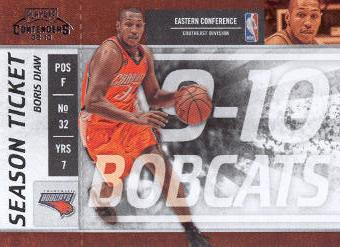 2009-10 Playoff Contenders #74 Boris Diaw