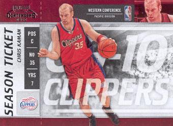 2009-10 Playoff Contenders #80 Chris Kaman