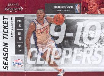 2009-10 Playoff Contenders #81 Eric Gordon