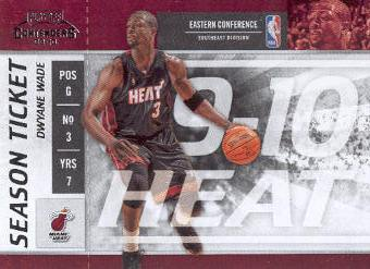 2009-10 Playoff Contenders #83 Dwyane Wade