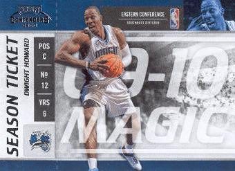 2009-10 Playoff Contenders #89 Dwight Howard