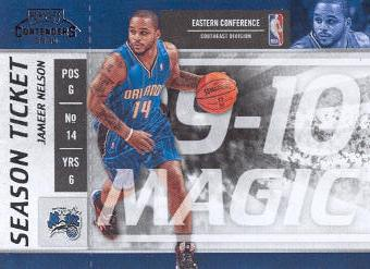 2009-10 Playoff Contenders #90 Jameer Nelson