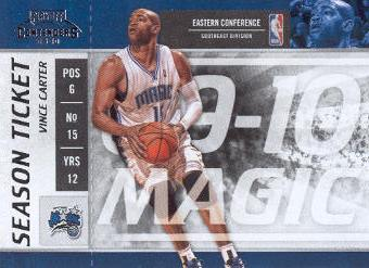 2009-10 Playoff Contenders #91 Vince Carter