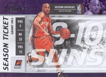 2009-10 Playoff Contenders #93 Grant Hill