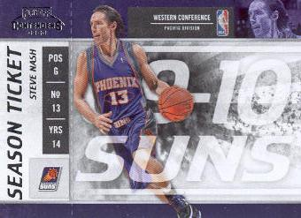 2009-10 Playoff Contenders #94 Steve Nash