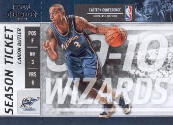 2009-10 Playoff Contenders #96 Caron Butler