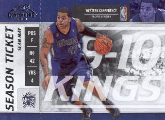 2009-10 Playoff Contenders #100 Sean May