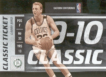 2009-10 Playoff Contenders #140 Larry Bird