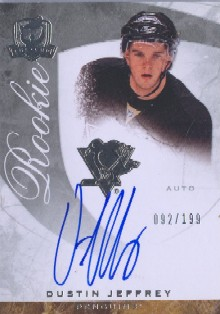 2008-09 The Cup #71 Dustin Jeffrey AU RC