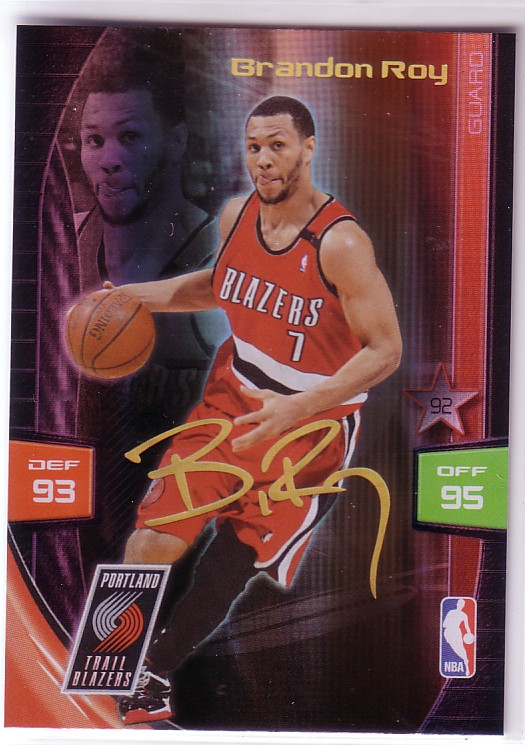 2009-10 Adrenalyn XL Extra Signature #26 Brandon Roy