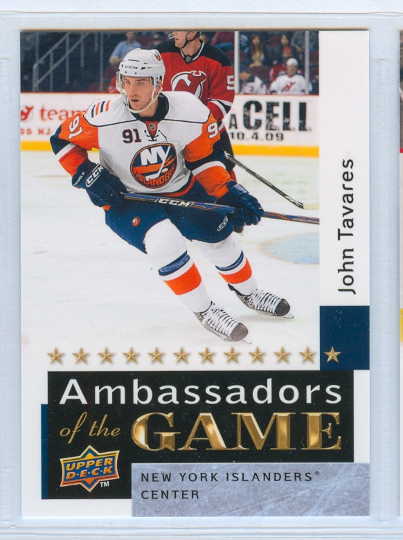 2009-10 Upper Deck Ambassadors of the Game #AG56 John Tavares SP
