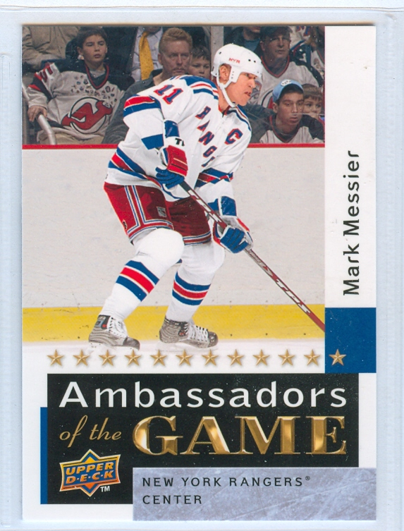 2009-10 Upper Deck Ambassadors of the Game #AG57 Mark Messier SP