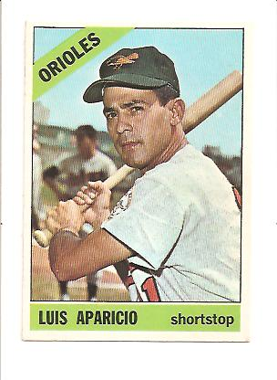 1966 Topps #90 Luis Aparicio DP front image
