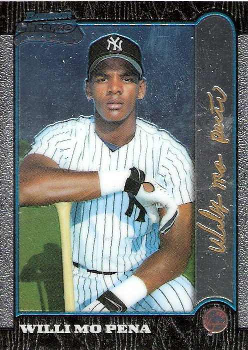 1999 Bowman Chrome Gold #401 Willi Mo Pena