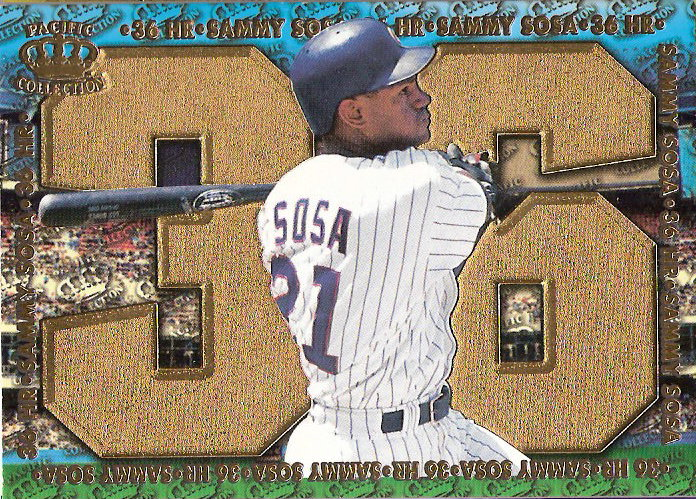 1998 Pacific Home Run Hitters #3 Sammy Sosa