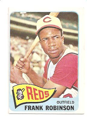 1965 Topps #120 Frank Robinson