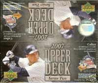 2007 Upper Deck Series 2 Retail Baseball Unopened Box (24 Packs)