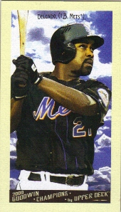 2009 Upper Deck Goodwin Champions Mini #9 Carlos Delgado