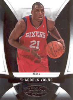 2009-10 Certified #96 Thaddeus Young