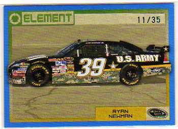 2010 Element Blue #45 Ryan Newman's Car