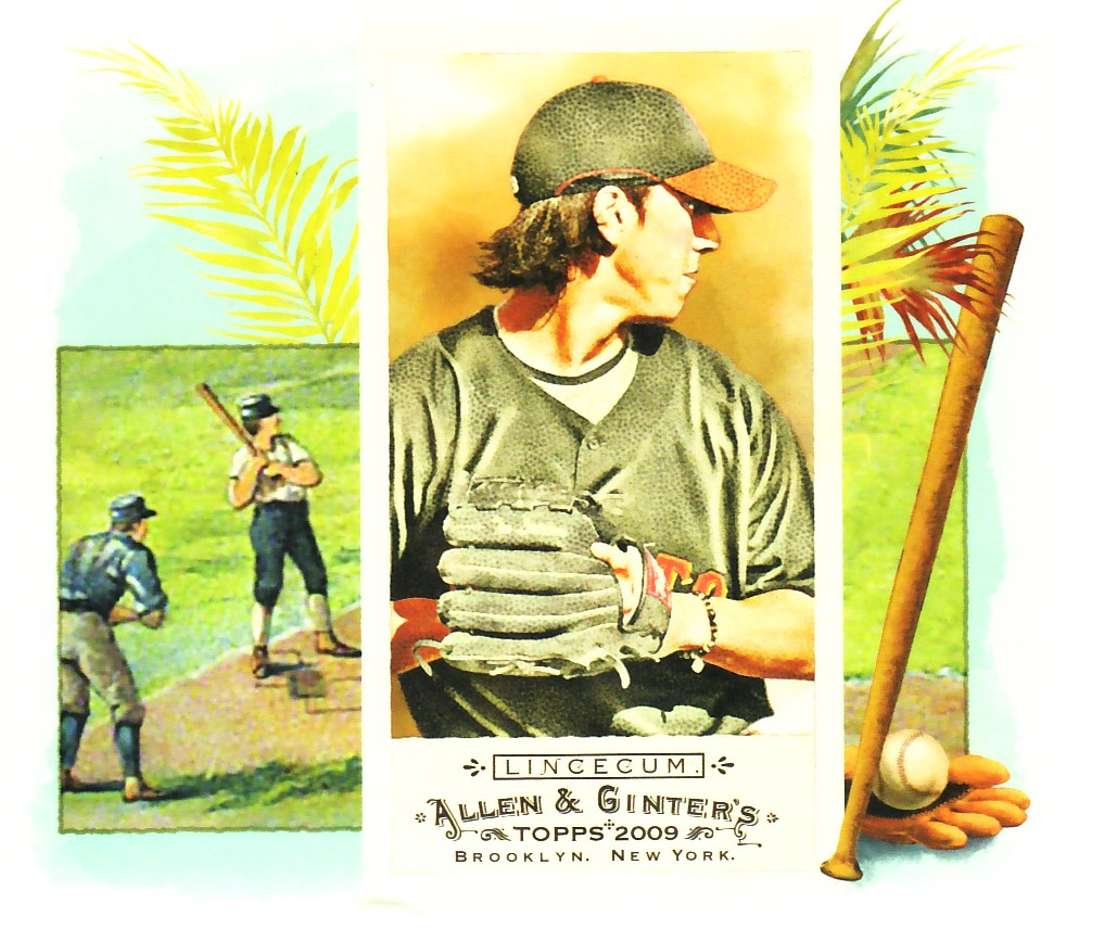 2009 Topps Allen and Ginter N43 #TL Tim Lincecum