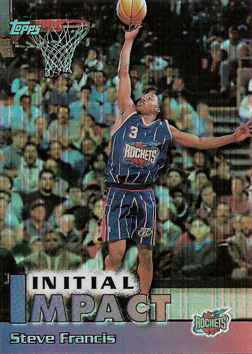 1999-00 Topps Impact Refractors #I7 Steve Francis