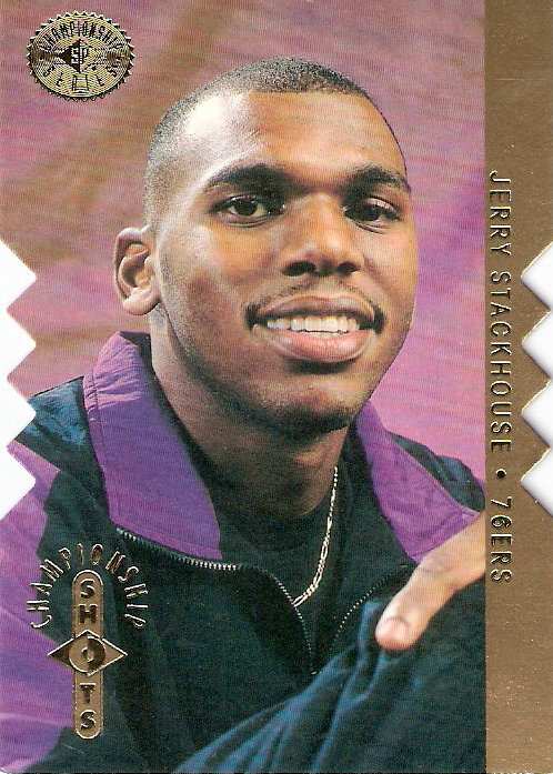 1995-96 SP Championship Championship Shots Gold #S15 Jerry Stackhouse