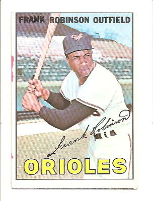 1967 Topps #100 Frank Robinson DP
