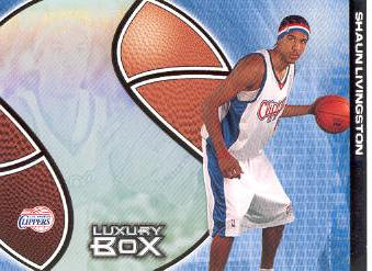 2004-05 Topps Luxury Box Pre-Production #PP3 Shaun Livingston