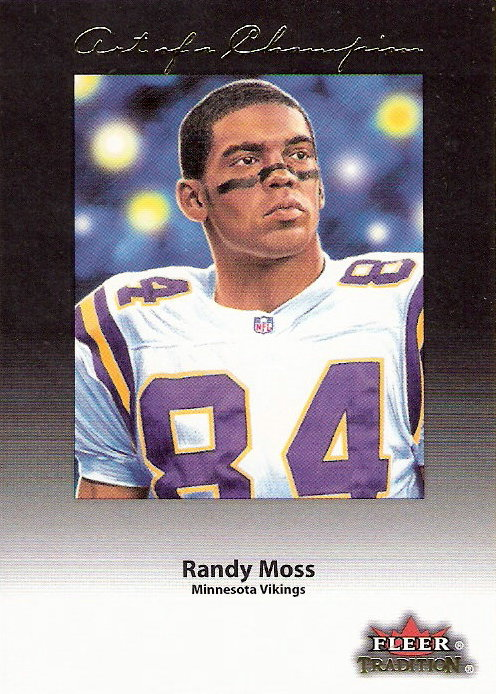 2001 Fleer Tradition Art of a Champion #8 Randy Moss