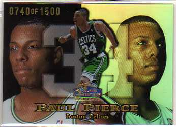 1998-99 Flair Showcase Row 1 #29 Paul Pierce