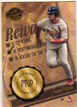 2001 Donruss Class of 2001 Rewards #RW8 Albert Pujols MVP
