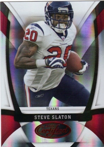 2009 Certified Mirror Red #52 Steve Slaton