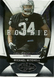 2009 Certified #179 Michael Mitchell RC