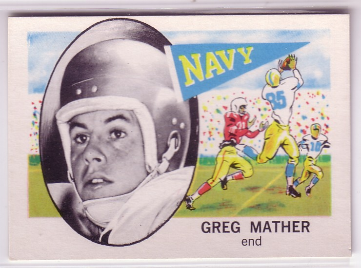 1961 Nu-Card #104 Greg Mather