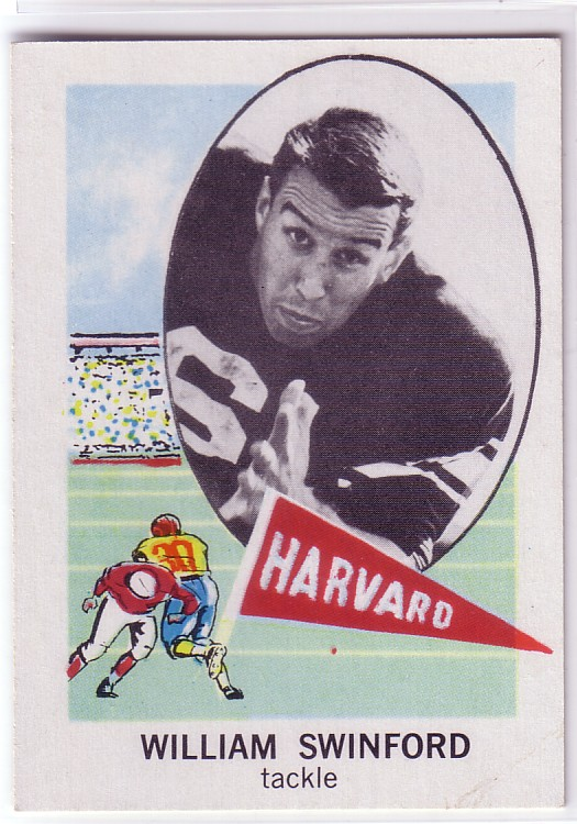 1961 Nu-Card #119 Bill Swinford