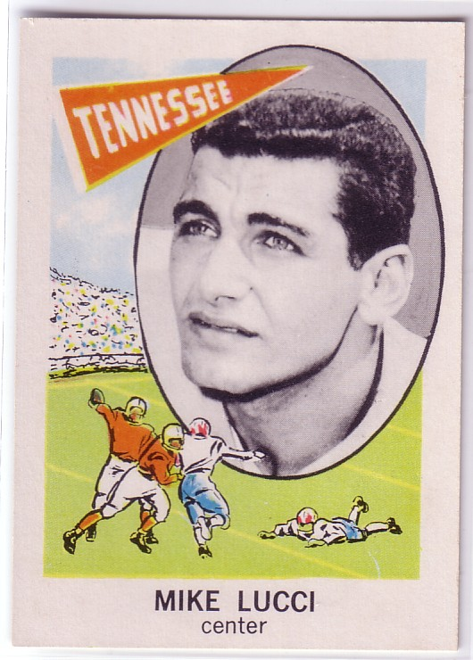1961 Nu-Card #121 Mike Lucci