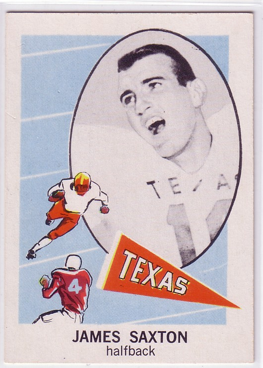 1961 Nu-Card #125 Jimmy Saxton