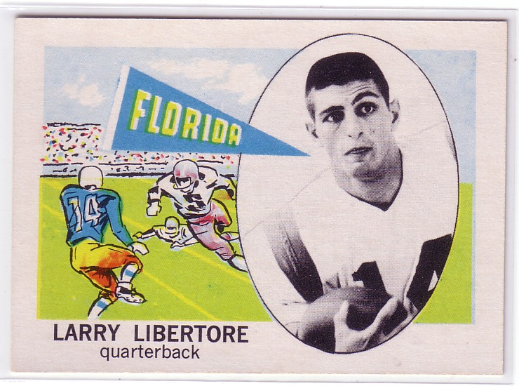 1961 Nu-Card #135 Larry Libertore