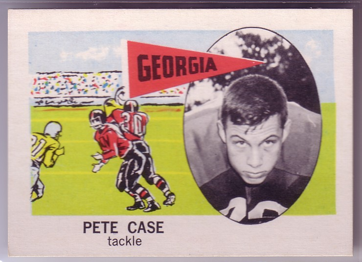 1961 Nu-Card #137 Pete Case