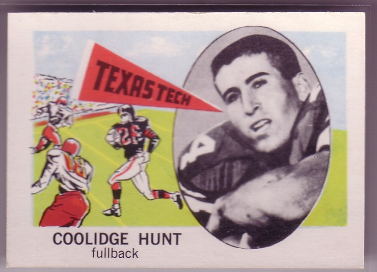 1961 Nu-Card #139 Coolidge Hunt