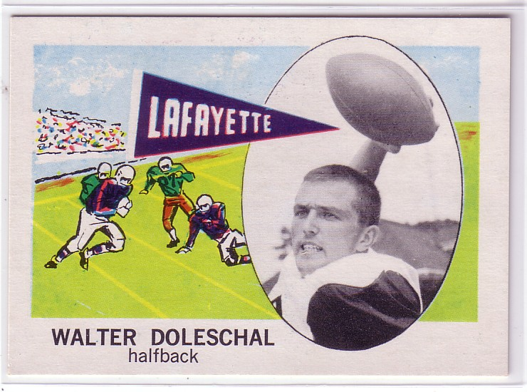 1961 Nu-Card #140 Walter Doleschal