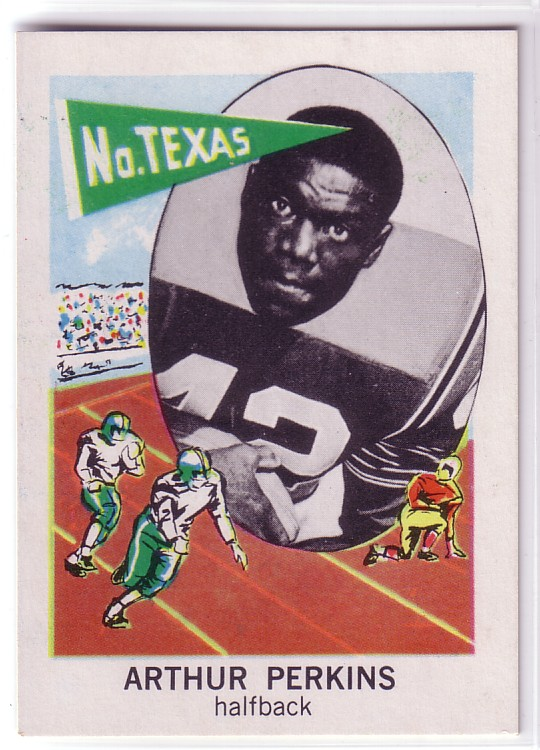 1961 Nu-Card #156 Art Perkins
