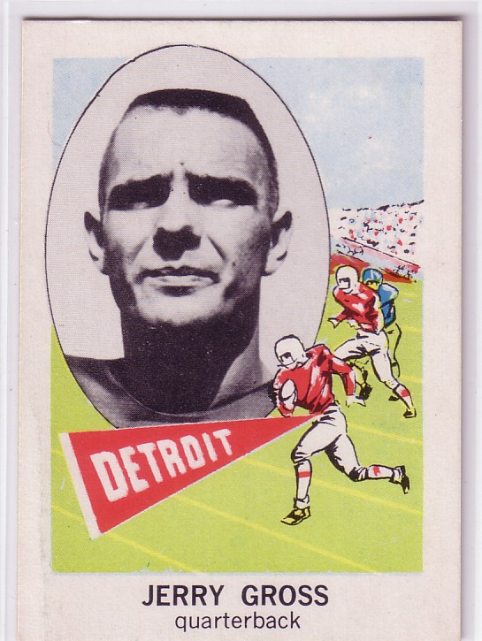 1961 Nu-Card #164 Jerry Cross