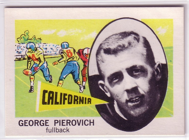 1961 Nu-Card #165 George Pierovich