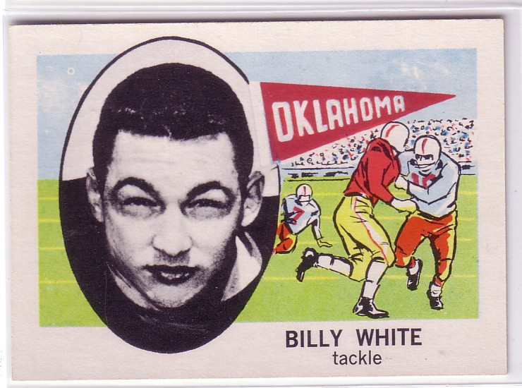 1961 Nu-Card #167 Billy White