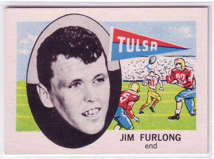 1961 Nu-Card #170 Jim Furlong