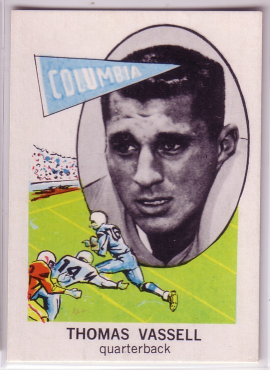 1961 Nu-Card #179 Tom Vassell